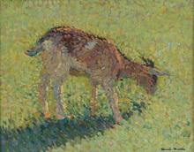 Henri MARTIN - Pintura - The Goat