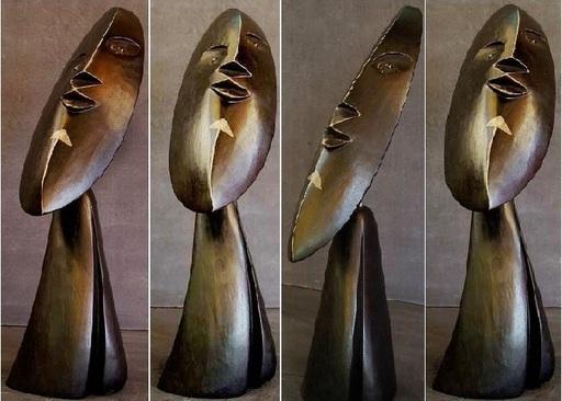Tanguy FLOT - Escultura - La flêche  -  Pièce unique orientable
