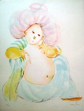 Leonor FINI - Print-Multiple - Baby Buddha