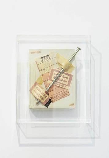 Günther UECKER - Sculpture-Volume - Checked Baggage