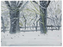 Alex KATZ (1927) - Winterlandscape