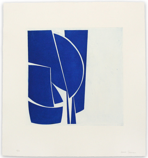 Joanne FREEMAN - Print-Multiple - Covers 1 Cobalt