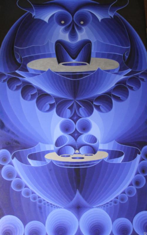 Steven KLUCHIK - Painting - Hollywood Bowl