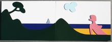 Claude GILLI - Sculpture-Volume - paysage