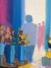 Gérard LE NALBAUT - Peinture - Fleuriste a Benadet