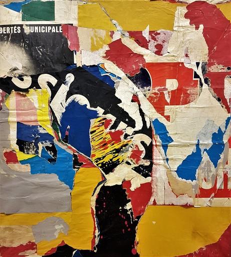 Jacques VILLEGLÉ - 绘画 - LIBERTÉS MUNICIPALES - 1964