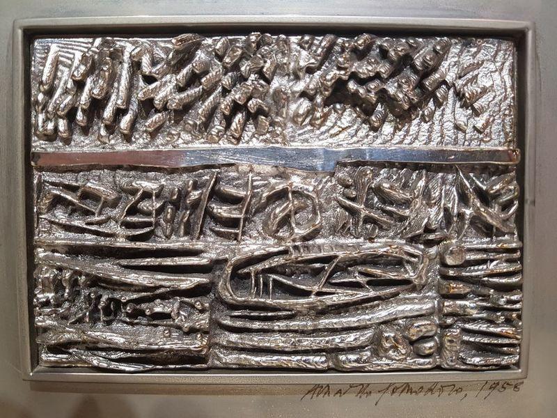 Arnaldo POMODORO - Sculpture-Volume - bassorilievo