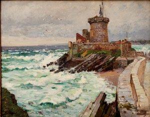"Alexandre NOZAL - Pintura - ""LE FORT DE SOCOA A CIBOURE"""