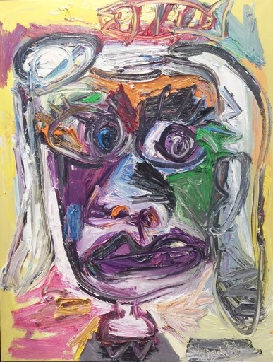 Thierry LOULÉ - Peinture - Lulu Berlue