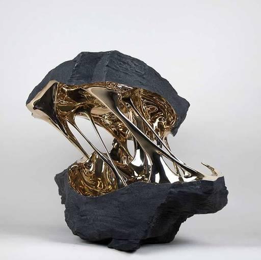 Romain LANGLOIS - Skulptur Volumen - Attraction de l'espace II