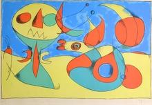 Joan MIRO - Print-Multiple - Oiseau Zephyr