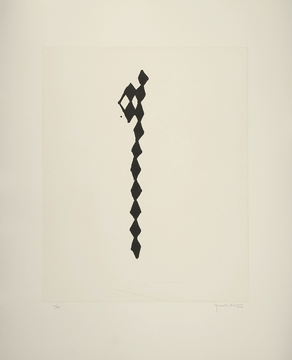 Joan HERNANDEZ PIJUAN - Print-Multiple - Rofe negro IV