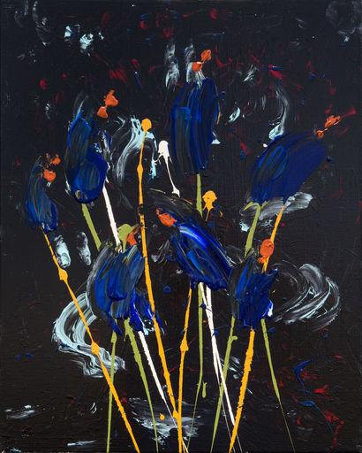 Mauro DRUDI - Pittura - FLOWERS - Leda
