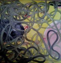 Miriam CABESSA - Painting - Composition