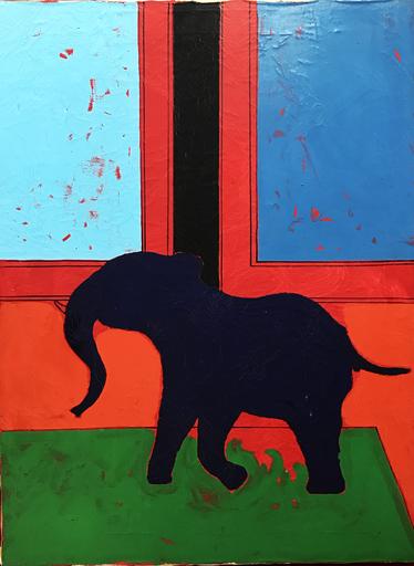 Tano FESTA - Pintura - Elefante