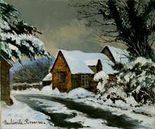 Paul Émile PISSARRO (1884-1972) - Neige à Clécy