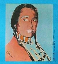 Andy WARHOL - Estampe-Multiple - D'après la série « American indians » 1976-77