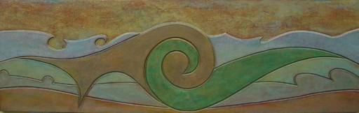 Franco CECCHINI - Pintura - Fusion