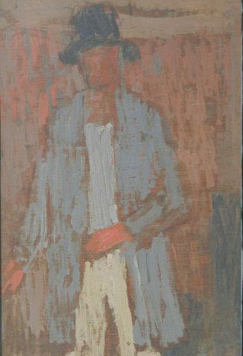 Børge Ludvig KNUDSEN - Pintura - PORTRAIT - HOMME - DANISH
