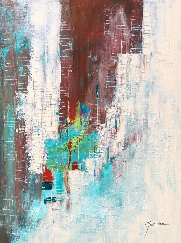 Magda PLAGGE - Painting - Metamorphosis