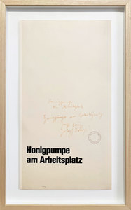 Joseph BEUYS - Print-Multiple - Honigpumpe am Arbeitsplatz