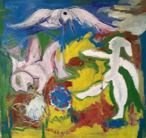 Bernard MOREL - Peinture - COVID-19