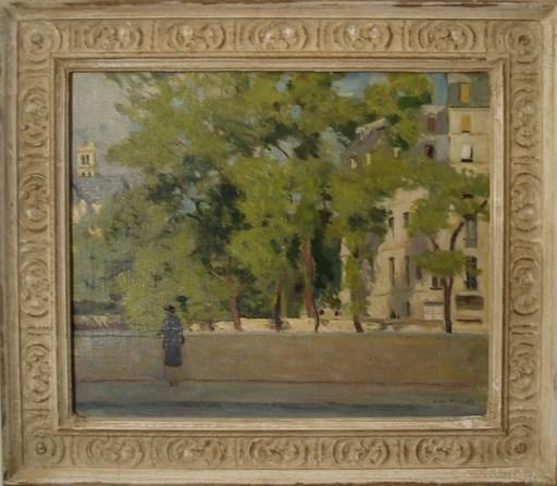 Willem HASSELT VAN - Painting - Ille Saint Louis
