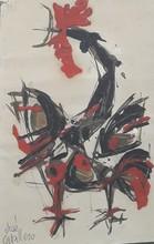 José CABALLERO - Pintura - GALLO