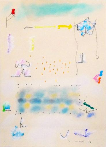 Manuel HERNÁNDEZ MOMPO - Drawing-Watercolor - Sin Título