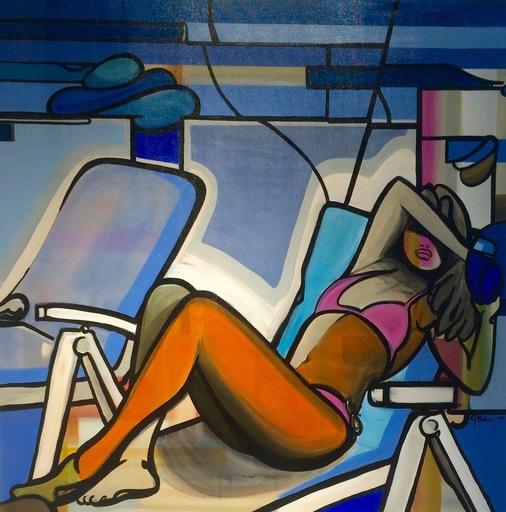 Ghazi BAKER - Gemälde - Here comes the sun