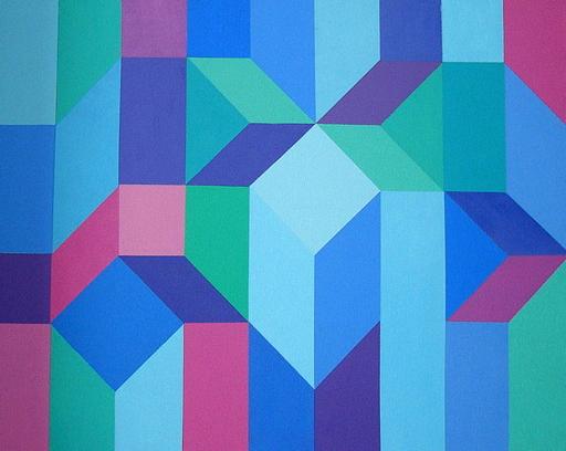 Inès COLARD - Peinture - JEUX CONSTRUCTION : 1