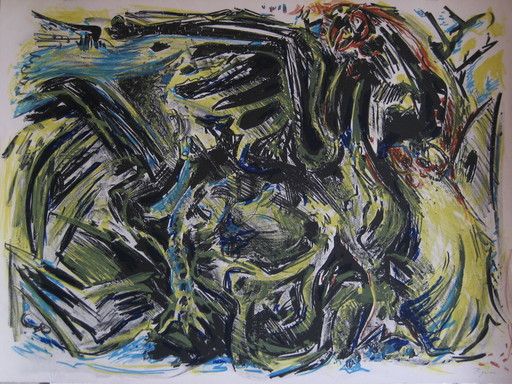Édouard PIGNON - Print-Multiple - LITHOGRAPHIE SIGNÉE AU CRAYON NUM/75 HANDSIGNED LITHOGRAPH