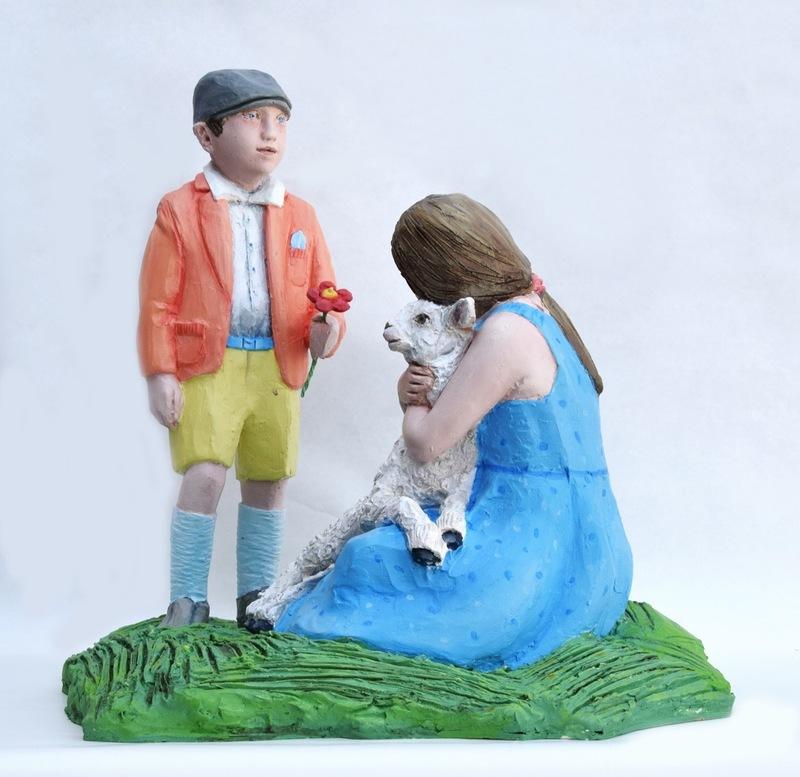 Gian Marco MONTESANO - Sculpture-Volume - Farinello scopre l'amore