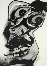 Antonio SAURA - Print-Multiple - MOI, PLANCHE 16