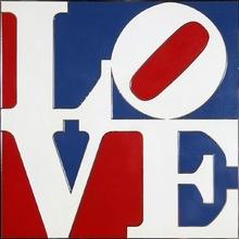 罗伯特•印第安纳 - 雕塑 - american love