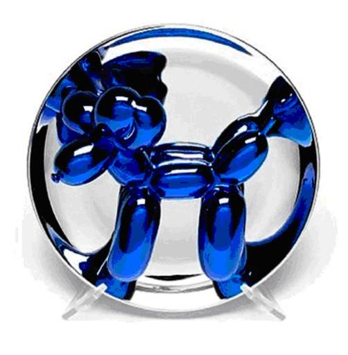 杰夫·昆斯 - 雕塑 - Blue Dog
