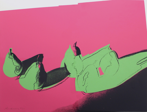 Andy WARHOL - Stampa-Multiplo - Space Fruit: Pears (FS II.203