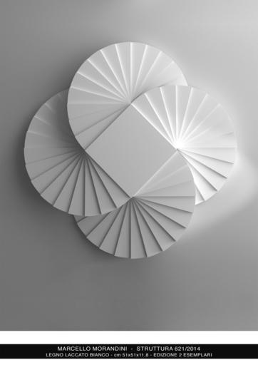 Marcello MORANDINI - Sculpture-Volume - Struttura 621