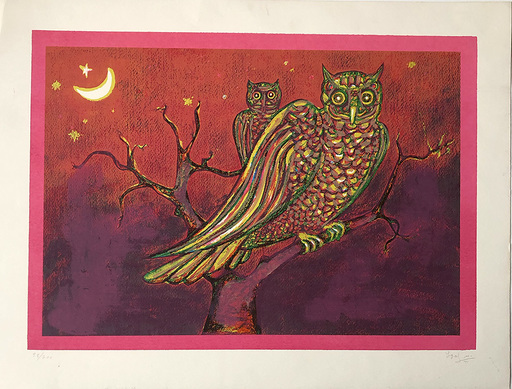 Igal MAOZ - Print-Multiple - Wise Owl