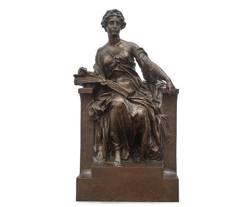 Edoardo RUBINO - Skulptur Volumen - Allegoria della storia