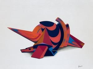 Jean-Claude FARHI - Sculpture-Volume - Sans titre