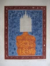 Hervé DI ROSA - Print-Multiple - GRAVURE 2001 SIGNÉ AU CRAYON NUM/40 HANDSIGNED NUMB ETCHING