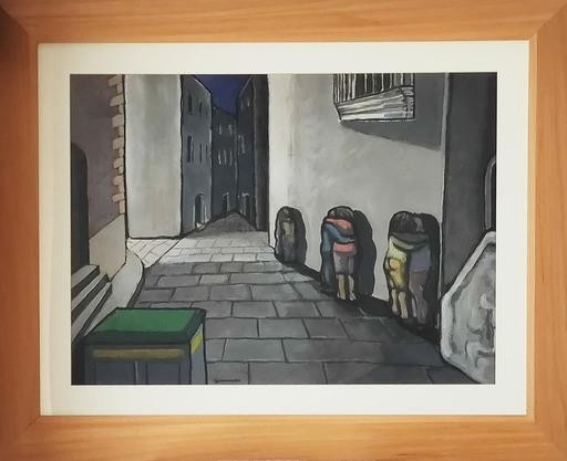 Luigi GUERRICCHIO - Painting - Senza titolo