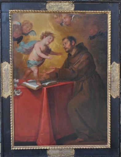 """Giovanni Andrea FERRARI - Gemälde - """"Il Bambino appare a Sant'Antonio da Padova"""""""