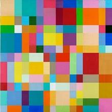Georges MEURANT - Painting - Untitled (The Figure Field) - Sans Titre (Le Champ Figural)