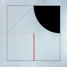 Gottfried HONEGGER - Grabado - Les 3 Figures