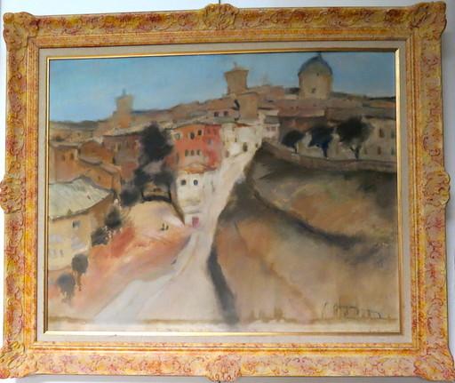 Raoul BERGOUGNAN - Peinture - Tolède