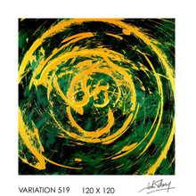 John THERY - Pintura - Variation 519