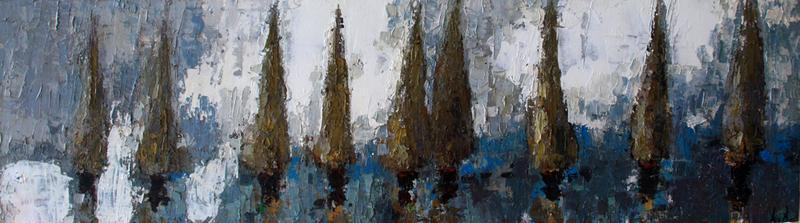 Ramaz ROSTOMASHVILI - Pintura - Regatta # 2