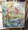 Nicole LEIDENFROST - Gemälde - Wald und ein Bach